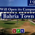 Iqra University Will Open its Campus in Bahria Town Karachi