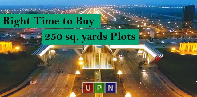 Right Time to Buy 250 sq. yards Plots in Bahria Town Karachi