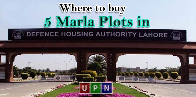 Where to buy 5 Marla Plots in DHA Lahore? Best Plots for Sale