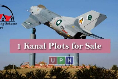 1 Kanal Plots for Sale in Fazaia Housing Scheme Lahore