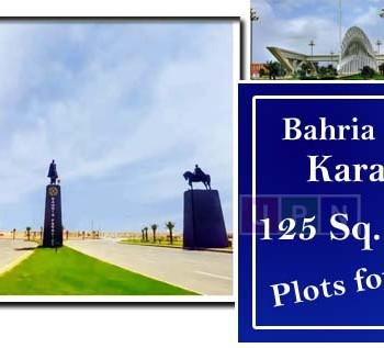 125 Sq. Yards Plots for Sale in Bahria Town Karachi