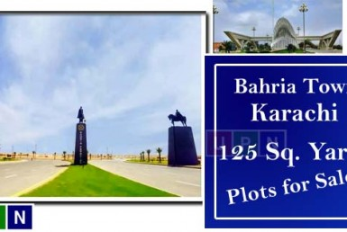 125 Sq. Yards Plots for Sale in Bahria Town Karachi