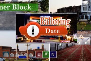 Al-Kabir Town Umer Block -Balloting Date Announced