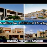 Bahria Town Karachi has Extended the Deadline for Additional Development Charges