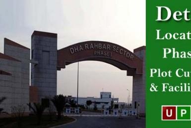 DHA Rahbar Lahore – Location, Phases, Plot Cuttings & Facilities