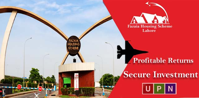 Fazaia Housing Scheme Lahore – Secure Investment & Profitable Returns