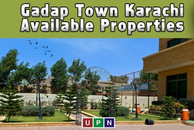 Gadap Town Karachi - Available Properties and Average Prices