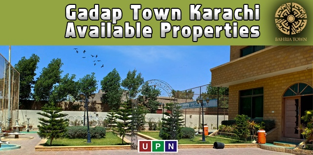 Gadap Town Karachi – Available Properties and Average Prices