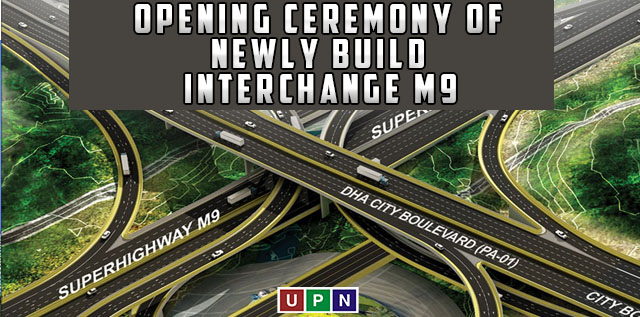 Opening Ceremony of Bahria Town Newly Build Interchange M9