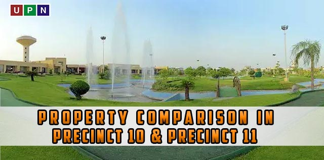 Property Comparison in Precinct 10 & Precinct 11 Bahria Town Karachi