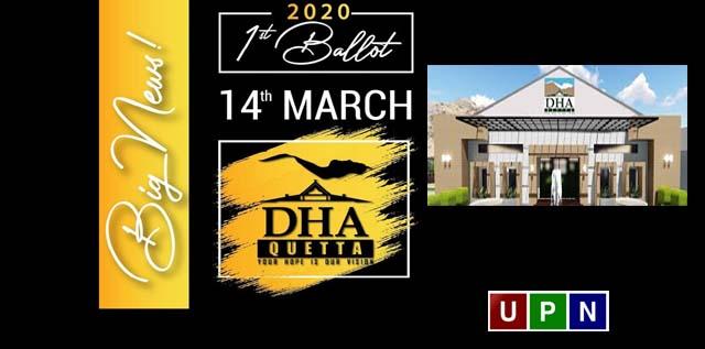 DHA Quetta – Balloting Date Announced