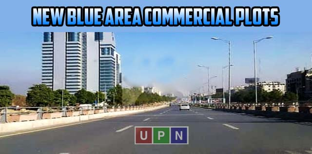 New Blue Area Commercial Plots in Islamabad