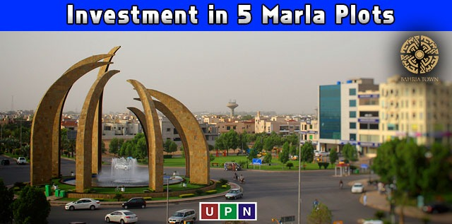 Investment in 5 Marla Plots in Bahria Town Lahore