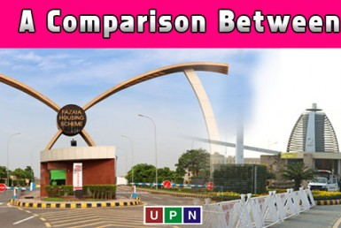 Bahria Orchard Lahore or Fazaia Housing Scheme Lahore ? A Comparison