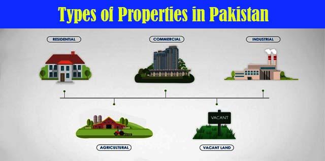 Different Types of Properties in Pakistan