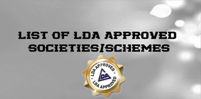 LDA Approved Housing Societies in Lahore – Updated Details 2020