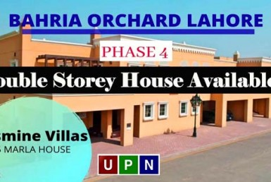 Double Storey House Available on Installments in Bahria Orchard Lahore
