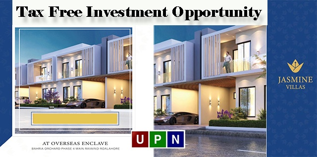 Jasmine Villas – Tax Free Investment Opportunity in Constructed Homes