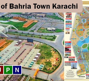 New Maps of Bahria Town Karachi and the Confusions