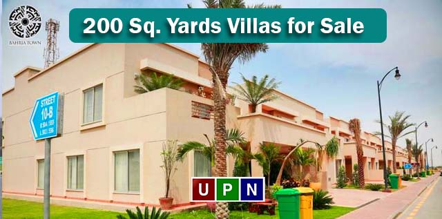 200 Sq. Yards Villas for Sale in Bahria Town Karachi – Latest Prices, Location, and Development Updates