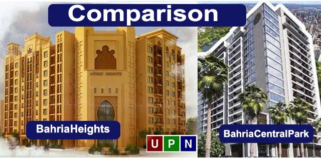Bahria Central Park Apartments or Bahria Heights – A Comparison