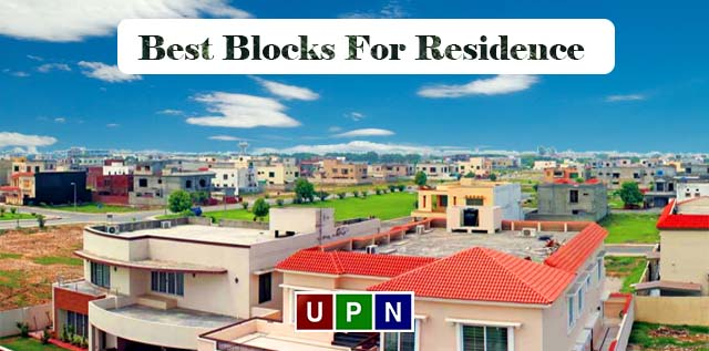 Best Blocks of Bahria Town Lahore For Residence