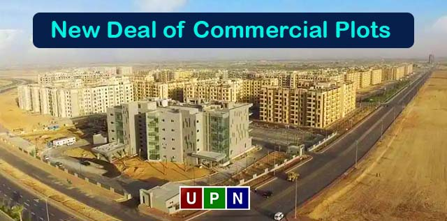 New Deal of Commercial Plots in Bahria Town Karachi on Installments