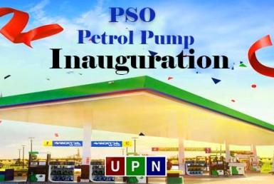 PSO Petrol Pump inauguration in Bahria Town Karachi