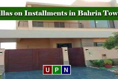 Villas on Installments in Bahria Town Karachi - Golden Investment Opportunity for Investors