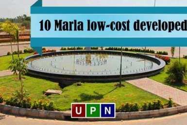 10 Marla low-cost developed plots in Bahria Town Lahore