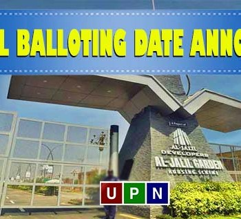 Al-Jalil Garden Lahore – Official Balloting Date Announced
