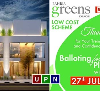 Bahria Greens Balloting Date Announced