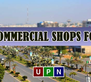 Commercial Shops in Bahria Town Lahore - Affordable Property Ideal for Rent Purpose