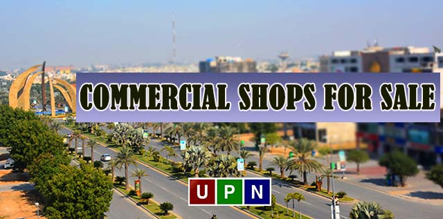 Commercial Shops in Bahria Town Lahore – Affordable Property Ideal for Rent Purpose