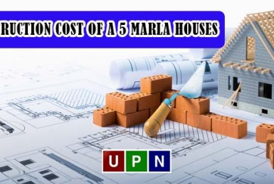 Construction Cost of a 5 Marla Houses