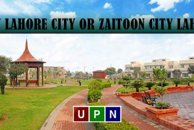 New Lahore City or Zaitoon City Lahore