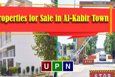 Properties for Sale in Al-Kabir Town Lahore Phase 2 - An Overview