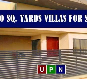 500 Sq. Yards Villas for Sale in Bahria Town Karachi