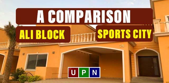 Ali Block 125 Sq. Yards Plots or Sports City Villas – A Comparison
