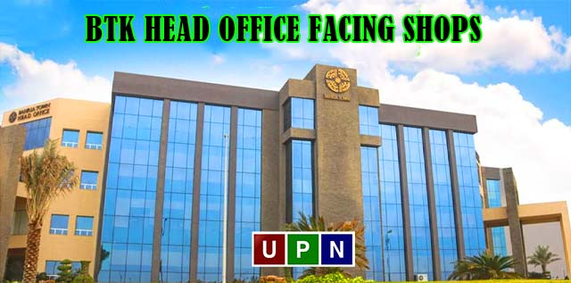 BTK Head Office Facing Shops, Offices, and Apartments for Sale