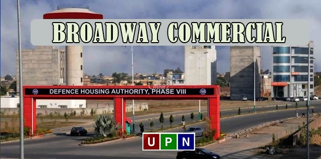 DHA Phase 8 Lahore Broadway Commercial – Prices, Development and Investment Potential