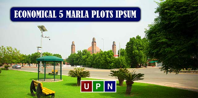 Economical 5 Marla Plots in Bahria Town Lahore