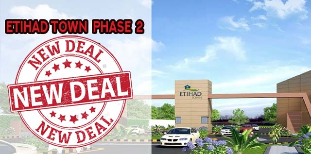 Etihad Town Lahore Phase 2 – New Bookings Announced on Installments