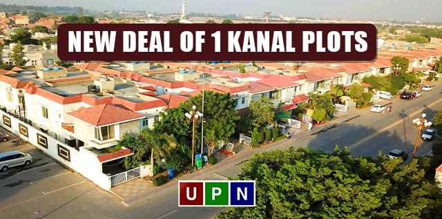 New Deal of 1 Kanal Plots in Bahria Town Lahore – Latest Update