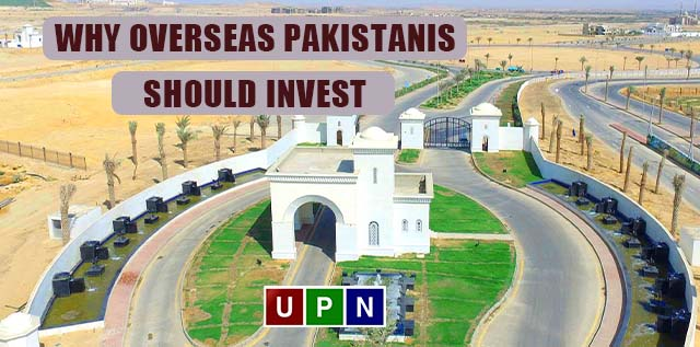 Why Overseas Pakistanis Should Invest in Bahria Town Karachi?