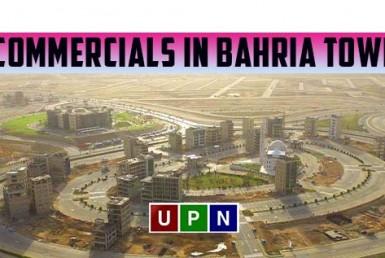 Commercials in Bahria Town Karachi - Complete Details