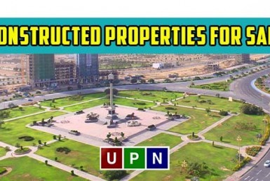 Constructed Properties for Sale in Bahria Town Karachi - Detailed Analysis