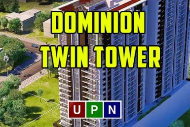 Dominion Twin Tower Bahria Town Karachi - Shops on Installments
