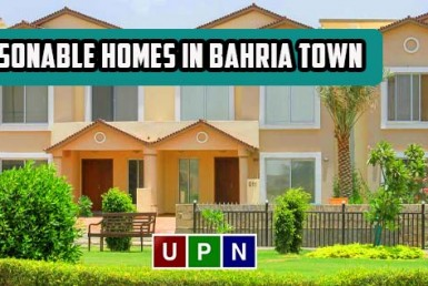 Reasonable Homes in Bahria Town Lahore