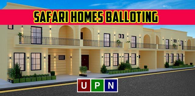 Safari Homes Balloting Date Announced
